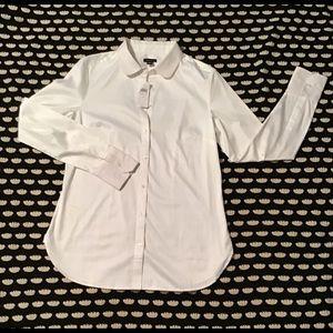 Ann Taylor Button Down Long Sleeve Dress Shirt